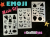 Graffiti Eyes Stencils Emoji Mash-up! Booster Pak