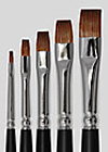 Grimas Red Sable Flat Brushes