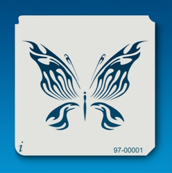 97-00001 IStencil Butterfly