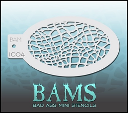 BAM1004 Bad Ass Mini Stencils