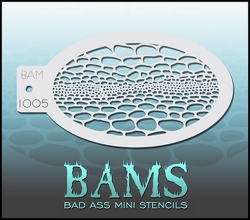BAM1005 Bad Ass Mini Stencils