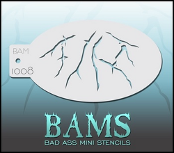 BAM1008 Bad Ass Mini Stencils