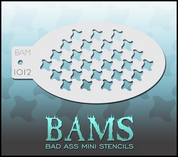 BAM1012 Bad Ass Mini Stencils