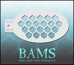 BAM1013 Bad Ass Mini Stencils