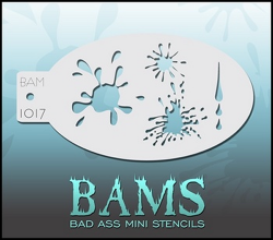 BAM1017 Bad Ass Mini Stencils