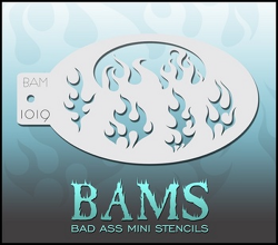 BAM1019 Bad Ass Mini Stencils