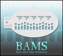 BAM1026 Bad Ass Mini Stencils