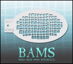 BAM1029 Bad Ass Mini Stencils