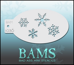 BAM1036 Bad Ass Mini Stencils