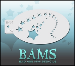 BAM1037 Bad Ass Mini Stencils