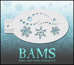 BAM1038 Bad Ass Mini Stencils