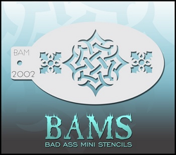 BAM2002 Bad Ass Mini Stencils
