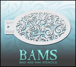 BAM2012 Bad Ass Mini Stencils
