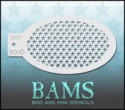 BAM2016 Bad Ass Mini Stencils