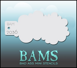 BAM2036 Bad Ass Mini Stencils