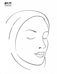 FAB032 Wipeable Practice Board Headscarf