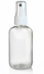 60 ml Clear Bottle and 20mm Atomiser Spray
