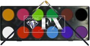 Diamond FX Regular Palette 12 x 10 g