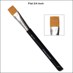 Global Colours Body Art Flat Brush 3/4''
