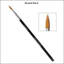 Global Colours Body Art Round Brush No 6