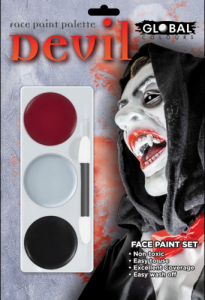 Global Colours Body Art Devil FX Palette 15 g