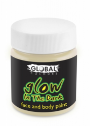 Global Body Art Liquid Face Paint Glow in the Dark  45 ml