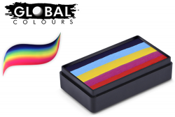 Global Colours Body Art Fun Stroke Leanne's Rainbow 30 g