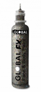 Global Colours Body Art Glitter FX Disco Mix 36 ml