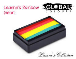 Global Colours Body Art Leanne's Collection Leanne's Rainbow Neon 30 g
