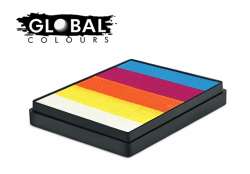 Global Colours Body Art Rainbow Cake Maui 50 g