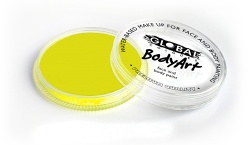 Global Colours Body Art Neon Yellow 32 g