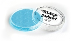 Global Colours Body Art Pearl Baby Blue 32 g