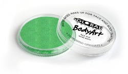 Global Colours Body Art Pearl Lime Green 32 g