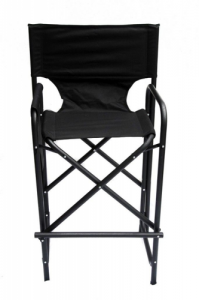 Model 2 High Aluminium Frame Directors Chair with Integrated Seat and Back