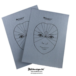 Jest Design It! Water Activated Practice Sheets (Set of 2)