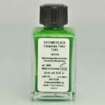 Kryolan Airbrush Tattoo Paint Green 30 ml