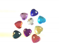 Kryvaline Jewel Shell Heart 12 mm (30 Pack)