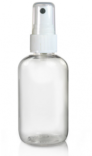 60 ml clear bottle with atomiser spray face painting spray