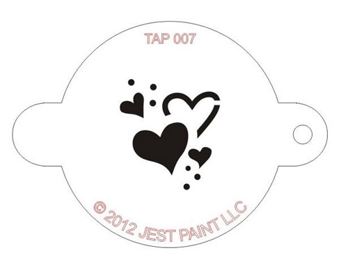Fan image for printable face painting stencils