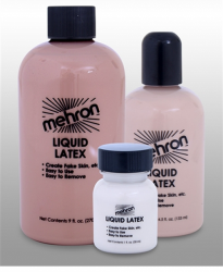 Mehron Liquid Latex Soft Beige/Light Flesh 4.5 fl oz (133 ml)