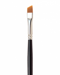 7400 Loew-Cornell LaCorneille Golden Taklon Brush Angled 1/2''
