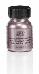 Mehron Metallic Powder Lavender (Approx 30 ml/1 oz)