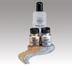 Gold/Silver Body Paint Kit