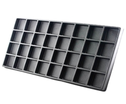 Plastic Insert for Wooden Case -  32 Holes
