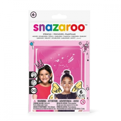 Snazaroo Girls Fantasy Stencils (Pack of 6)