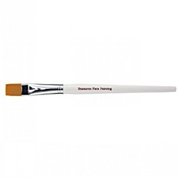 Snazaroo Large Flat Brush (White Handle)