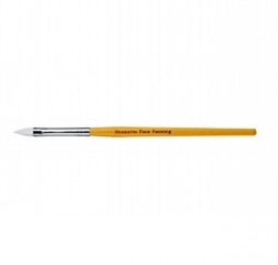 Snazaroo Medium Flat Brush (Yellow Handle)