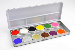 Superstar Regular Bright Colours Palette 12 x 5 g