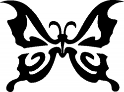 TAG Adhesive Stencil Butterfly Three