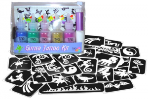 TAG Glitter Tattoo Party Kit for Girls